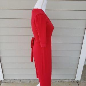 Merona Dresses - MERONA V-Neck Midi Wrap Dress, sz XS